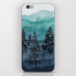 Mountains II iPhone Skin