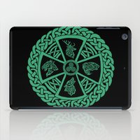 celtic iPad Cases featuring Celtic Nature by Astrablink7