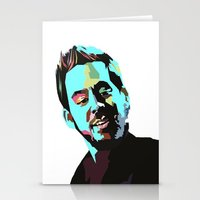 mike wrobel Stationery Cards featuring Mike Shinoda by Lyre Aloise