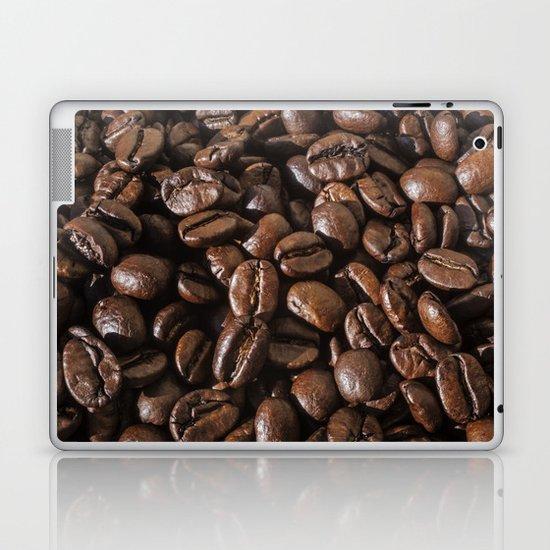 coffee bean macro II Laptop & iPad Skin