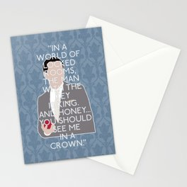 The Reichenbach Fall - Jim Moriarty Stationery Cards