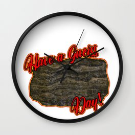 Mineral Collecting Rockhounding Rock Hobby Gift Wall Clock