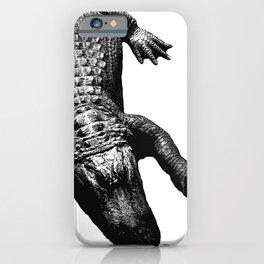 Alligators Love to Swim iPhone Case