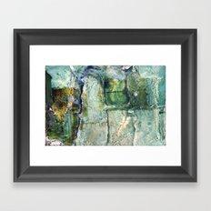 Water Damaged Photo No. 6 Framed Art Print