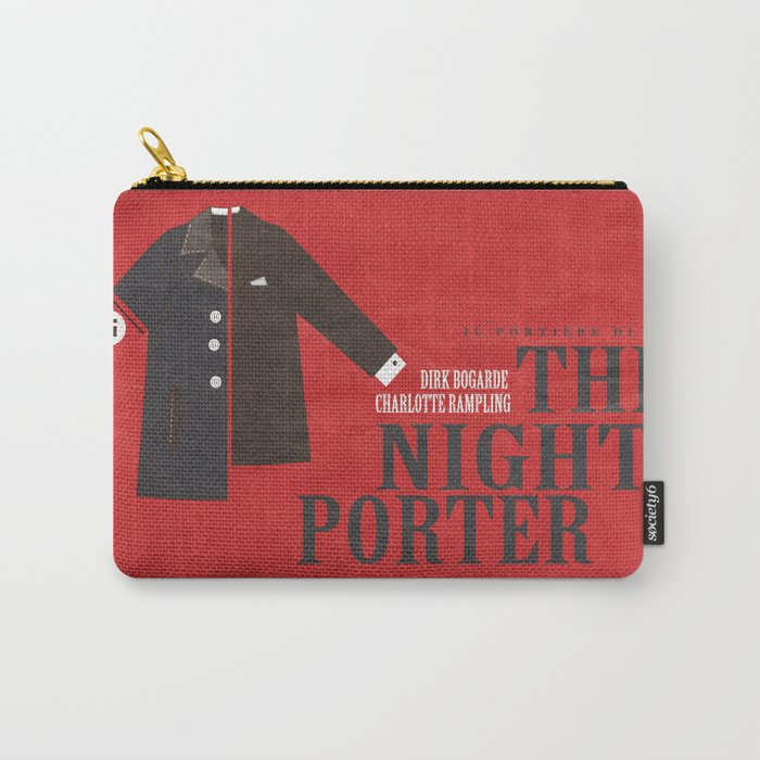 The Night Porter, movie poster, Liliana Cavani, Charlotte Rampling, Dirk Bogarde Carry-All Pouch