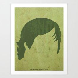 Luke Skywalker Print - LEFT Art Print
