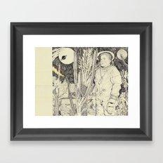 lost planet Framed Art Print