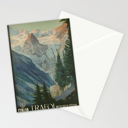 Vintage poster - Trafoi Stationery Cards