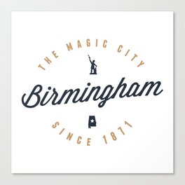 Birmingham, Alabama - The Magic City Canvas Print