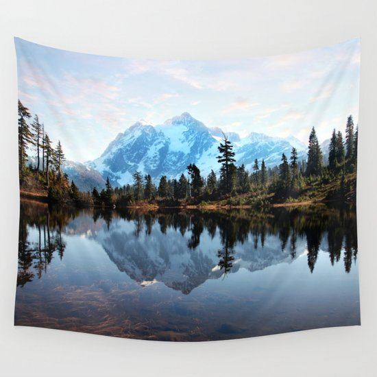 Mt Shuksan Wall Tapestry