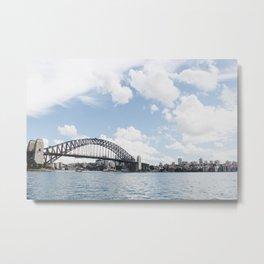 Sydney Bridge Metal Print