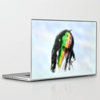 marley Laptop & iPad Skins featuring Marley in the Sky by Andre Ferraz digital & Fine Art