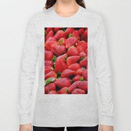 strawberries Long Sleeve T-shirt