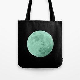 TEAL MOON // BLACK SKY Tote Bag