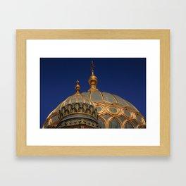 Berlin Synagogue Dome Framed Art Print