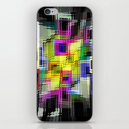 Cubism interdimensional. iPhone Skin