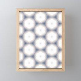 Sakura Hex by Friztin Framed Mini Art Print