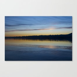 A Lovely Ending Canvas Print