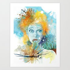 Good Intentions Art Print