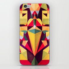 In the Middle of Something iPhone & iPod Skin