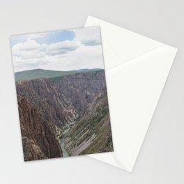 Black Canyon of the Gunnison - Landscape Photography Stationery Cards