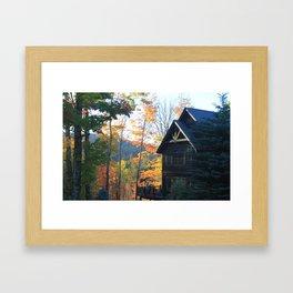 Stratton Mountain Framed Art Print