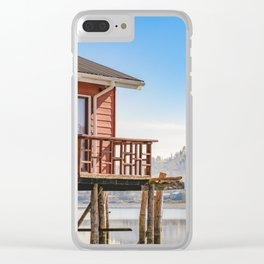 Palafito Houses at Lake, Chiloe, Chile Clear iPhone Case