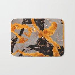 Golden Mess Bath Mat