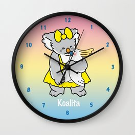 Koalita and friend Wall Clock