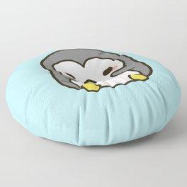 Shy penguin Floor Pillow