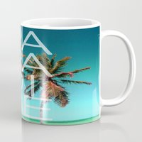 paradise Mugs featuring PARADISE by Chrisb Marquez