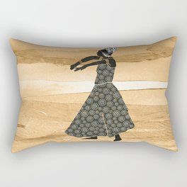 African Dancer 1 Rectangular Pillow