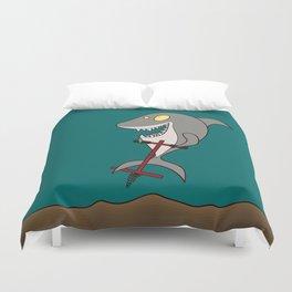 Pogo Shark Duvet Cover