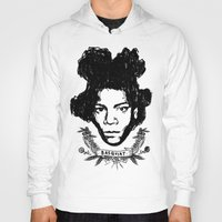 basquiat Hoodies featuring Basquiat by CLSNYC
