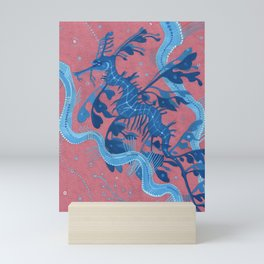 Leafy Sea Dragon Seahorse Mini Art Print