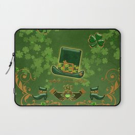 Happy st. patricks day Laptop Sleeve