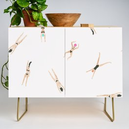 Swimmers Credenza