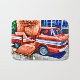 An Old Pickup Truck2 Bath Mat