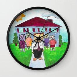 Utah Cats Wall Clock