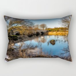 Pont Pen y Llyn Bridge Rectangular Pillow