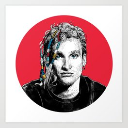 Mr Layne Staley Art Print