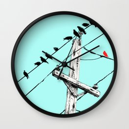 Brooke Figer - Assimilate Wall Clock