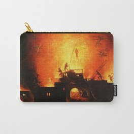 The flaming infurno Carry-All Pouch