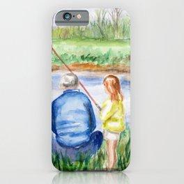 Fishing Memories iPhone Case