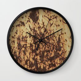 Rusty iron Wall Clock