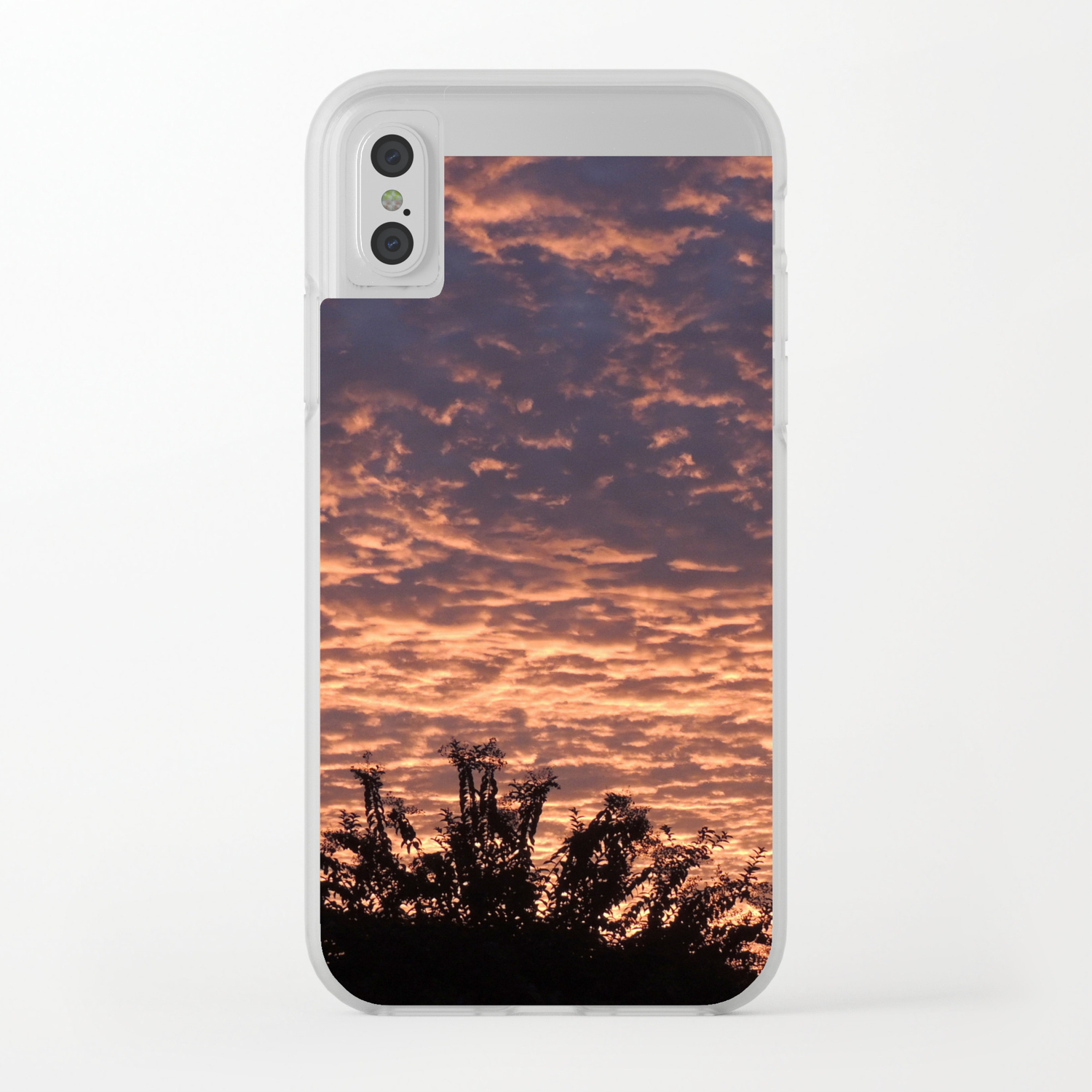 new product 8fbf9 75b92 Atmospherics Number 2: Sunset from Costco San Dimas Clear iPhone Case