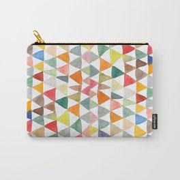 Triangle Tapestry Carry-All Pouch