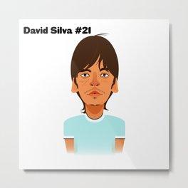 David Silva #21 Metal Print