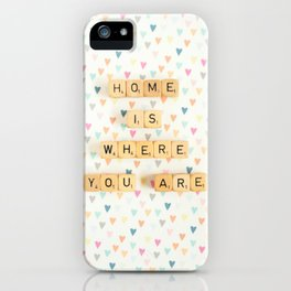 Home is Where You Are iPhone Case