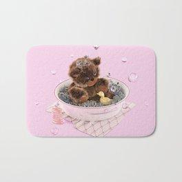 Bath Time Teddy - Pink Bath Mat